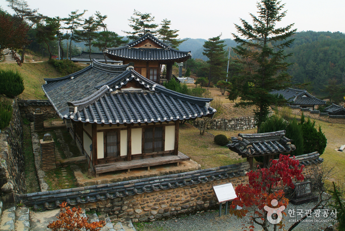 Andong Gunja Village (Historic Site of Ocheon) (안동 군자마을(오천유적지)