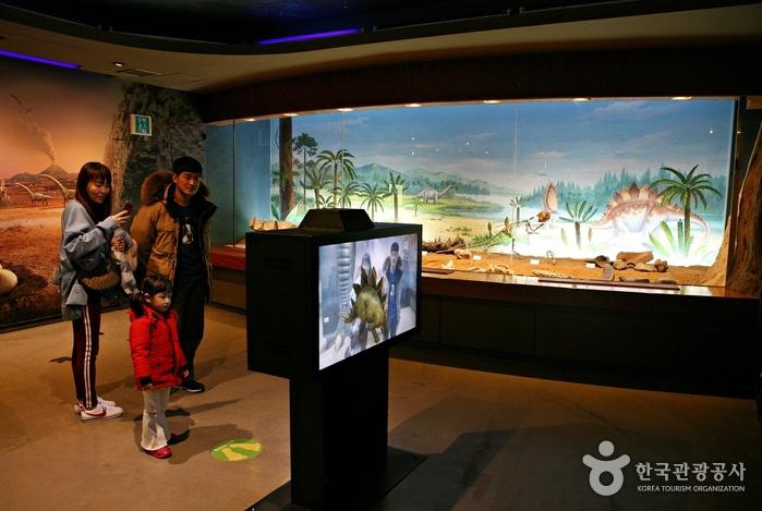 증강현실을 이용한 공룡체험 프로그램
