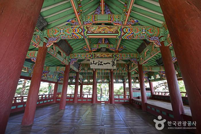 Pavillon Gyeongpodae (강릉 경포대)