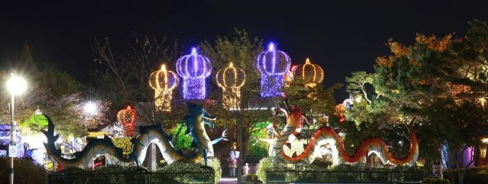 Iksan Festival der 10 Millionen Chrysanthemen (익산천만송이국화축제)