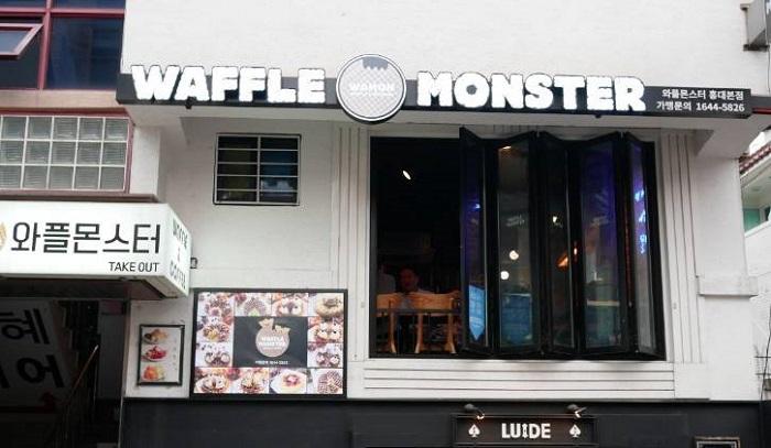 WAFFLE MONSTER( 와플몬스터 홍대 )