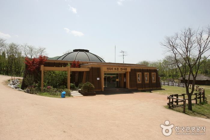 전곡리 유적 토층 (한탄강 국가지질공원)