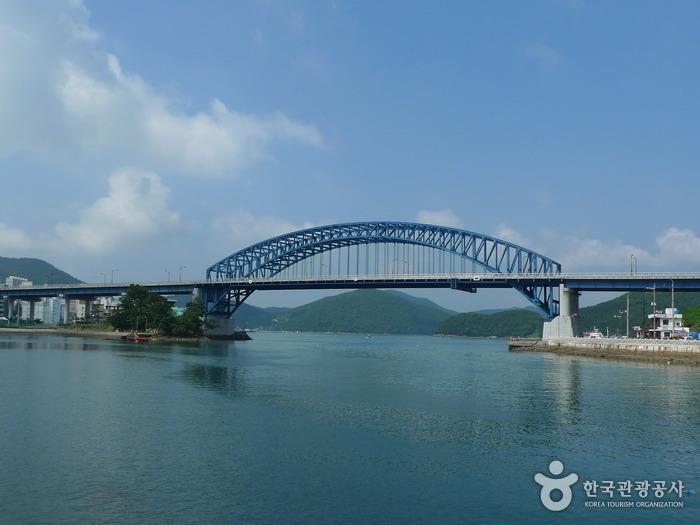 統営大橋(통영대교)