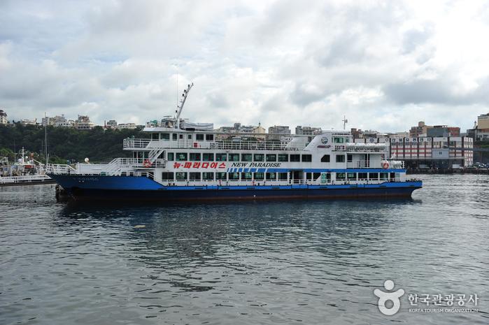 Seogwipo New Paradise Cruise (서귀포유람선 뉴파라다이스호)