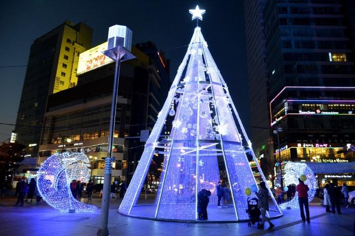 해운대라꼬 빛축제 2016