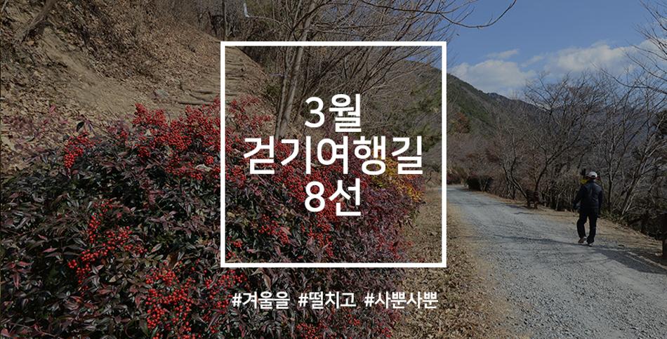 한국관광공사 추천 3월 걷기여행길, 겨울을 떨치고 사뿐사뿐 사진