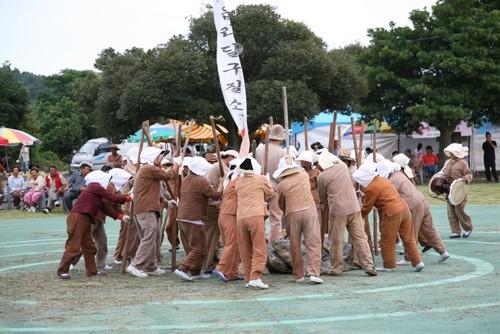 제주성읍마을 전통민속재연축제 2018  <br> 济州城邑村传统民俗再现节