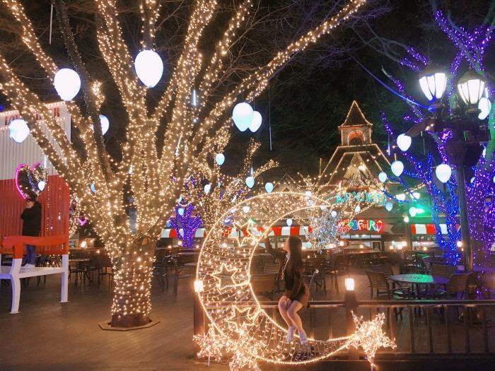 E-WORLDピョルピッ祭り(이월드 별빛축제)