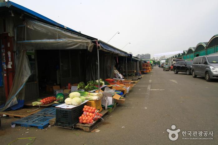 Рынок Карак (Оптовый рынок Карак продукции земледелия и рыбаловства) (가락동 (가락농수산물 도매시장))
