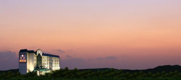水安堡朝鮮観光ホテル(수안보 조선 관광호텔)