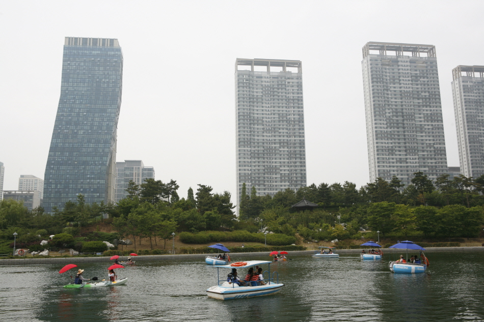 해수 공원에서 만끽하는 도심 바캉스, 송도국제도시