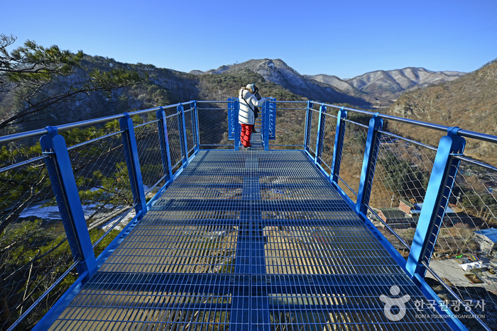 Wonju Sogeumsan Mountain Suspension Bridge (원주 소금산 출렁다리)
