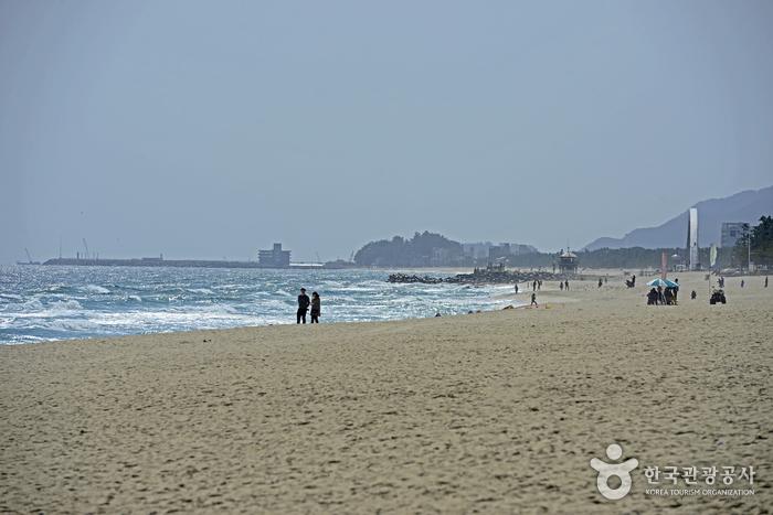江陵 鏡浦海水浴場(강릉 경포해수욕장)