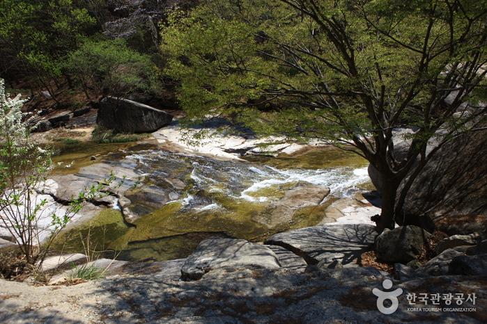 仙遊渓谷(선유구곡(선유동계곡))