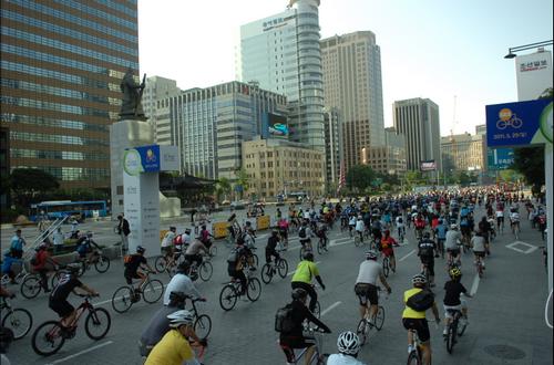 Seoul Bike Parade (서울자전거대행진)