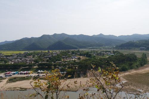 Acantilado Buyongdae (부용대)7