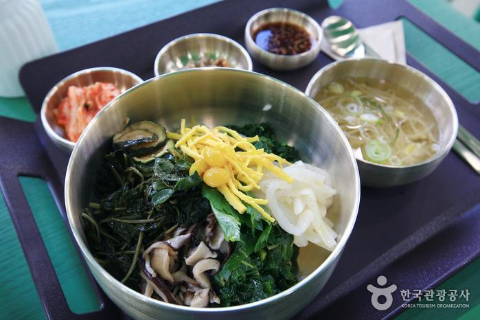 7017 서울화반의 산채나물비빔밥