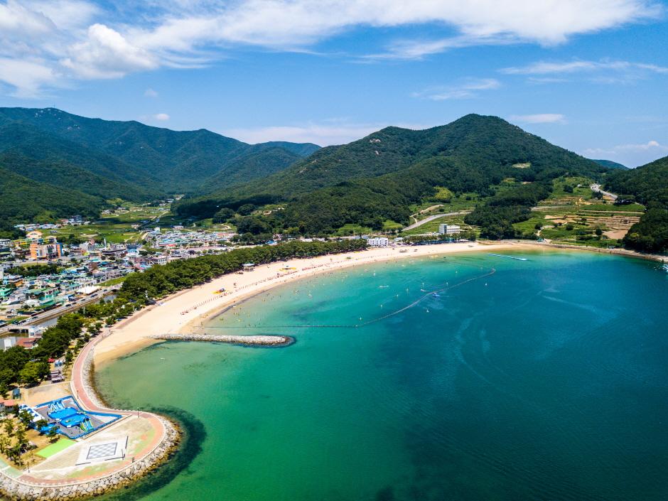 尚州銀砂ビーチ(상주은모래비치)