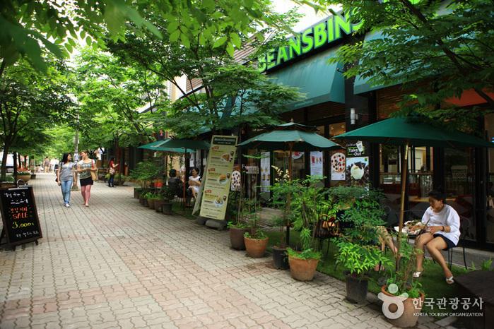 寶亭洞咖啡街(보정동카페거리)
