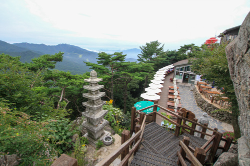 Канатная дорога в горах Пхальгонсан (팔공산 케이블카)8