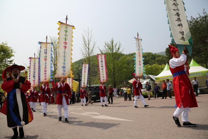 Yongmunsan Wild Plants Festival (양평 용문산 산나물 축제)