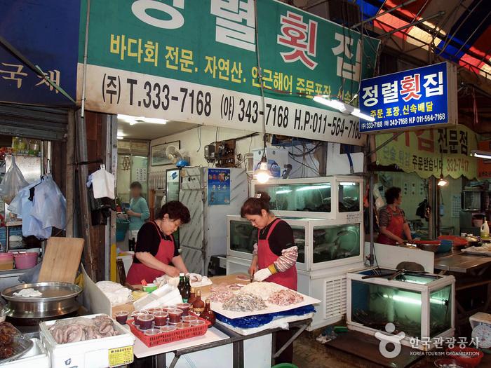 Jeongnyeol Hoetjip (정렬횟집)