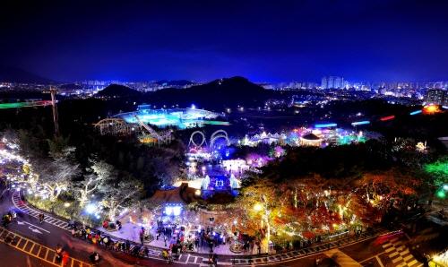 이월드 별빛축제 사진19
