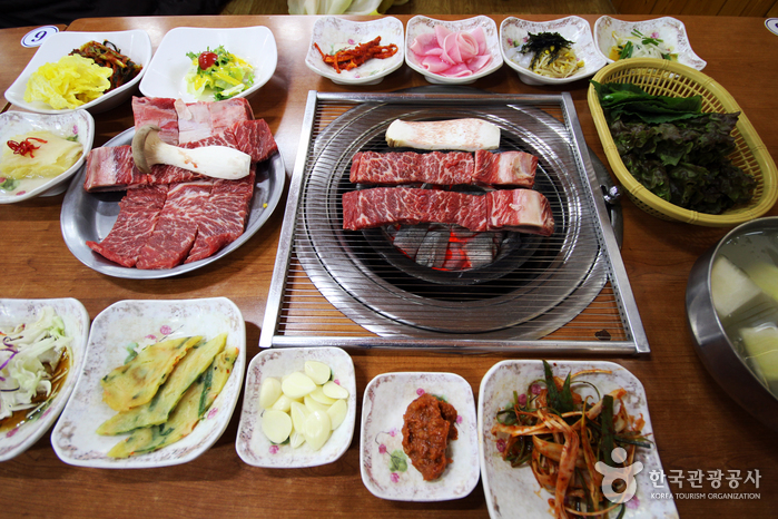 Village du Galbi à Pocheon (포천 이동갈비마을)