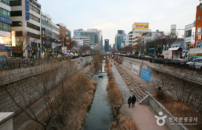 Arroyo Cheonggyecheon (청계천)