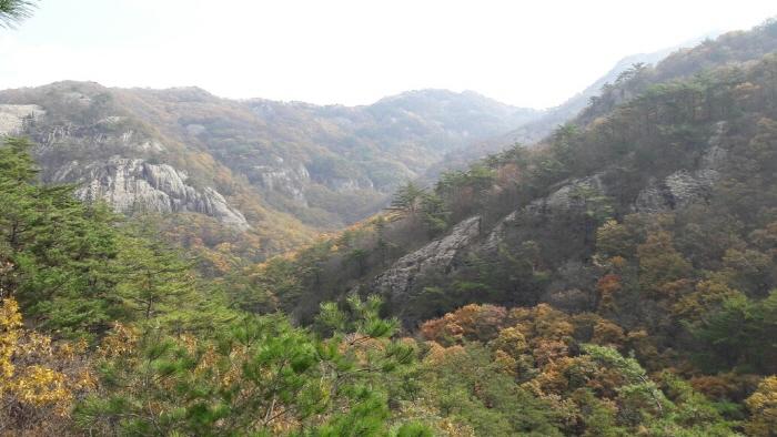 내변산 가을 풍경