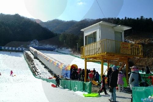 Schlittenbahn in Gapyeong (가평사계절썰매장)
