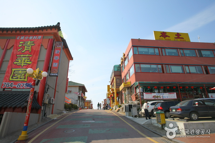 Incheon Chinatown Jajangmyeon Street (  )