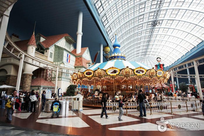 photo about Lotte World