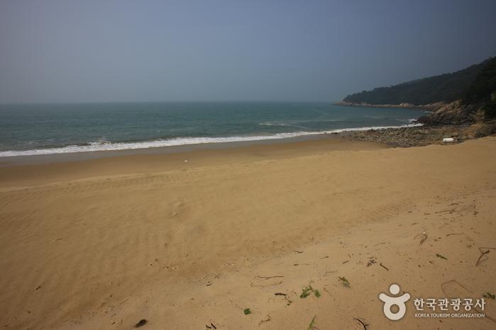 작은풀안 해변