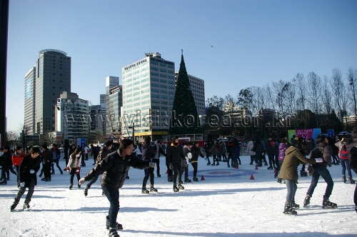 Seoul Square Ice Skating Rink (서울광장 스케이트장)