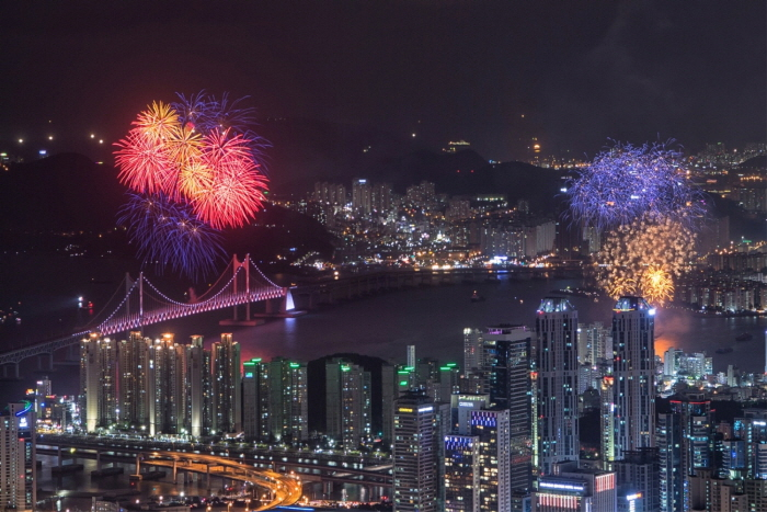 Internationales Feuerwerksfestival in Busan (부산 세계불꽃축제)