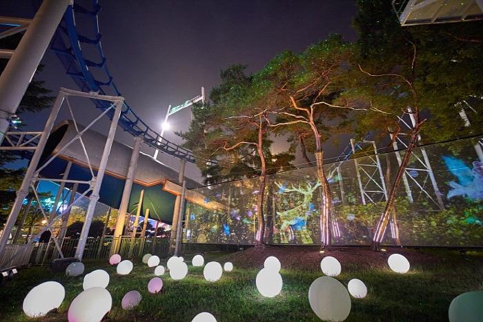 ソウルランド冬の光祭り(서울랜드 겨울 빛축제)