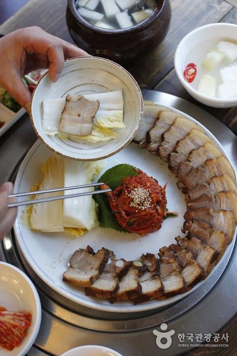 Ресторан Кесон Манду Кун / (개성만두 궁)16