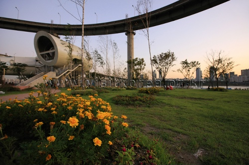 汉江市民公园纛岛地区(纛岛汉江公园)한강시민공원 뚝섬지구(뚝섬한강공원)