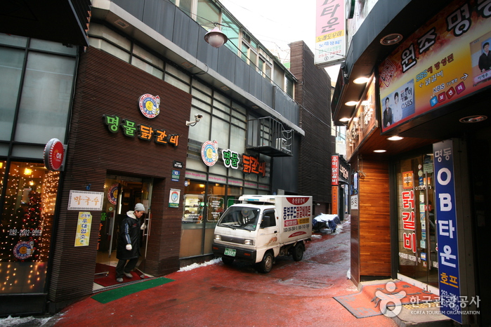 Chuncheon Myeongdong Dakgalbi Street (춘천 명동 닭갈비 골목)