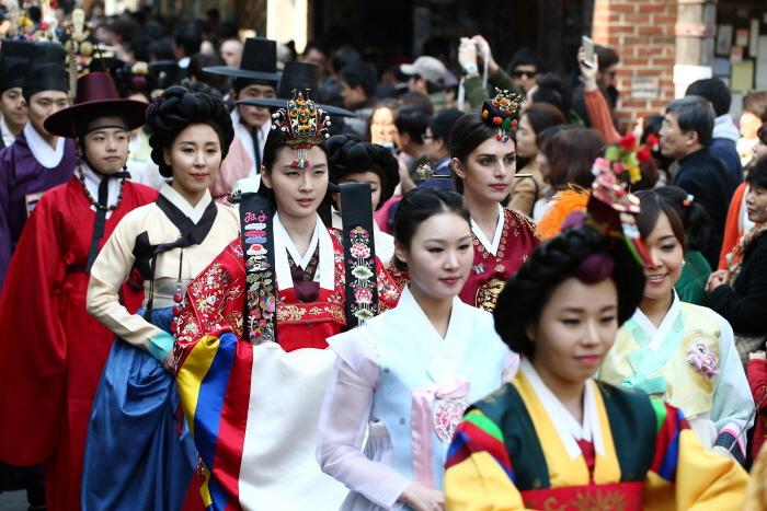 종로 한복 축제 '한복자락 날리는 날' 2016
