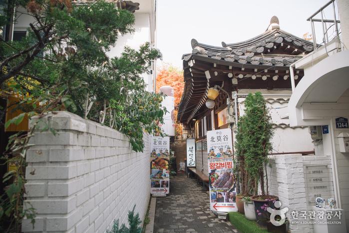 Ресторан Bukmakgol (북막골)4
