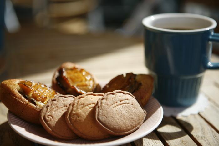 전복쿠키(행복쿠키)와 전복빵