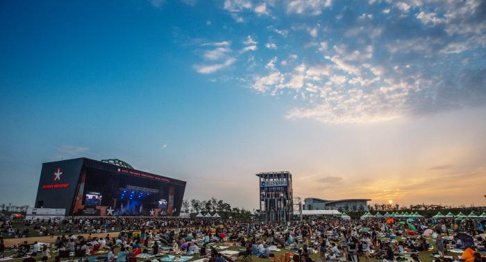 仁川 PENTAPORT摇滚节인천 펜타포트 락 페스티벌
