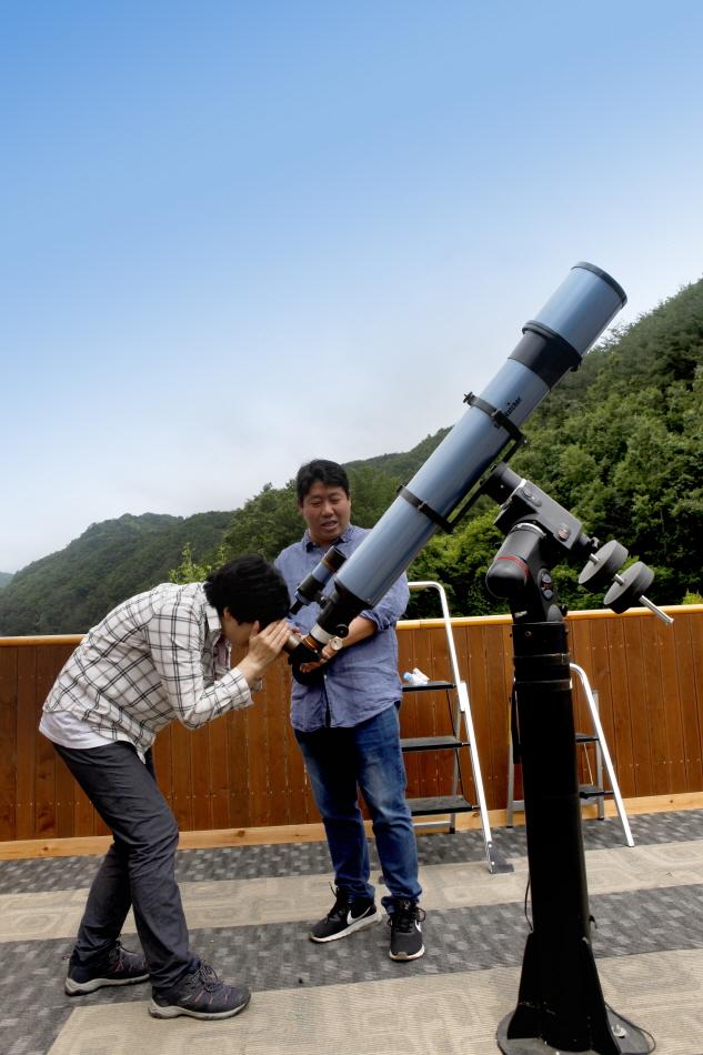 ホタル天文台(반딧불이 천문대)
