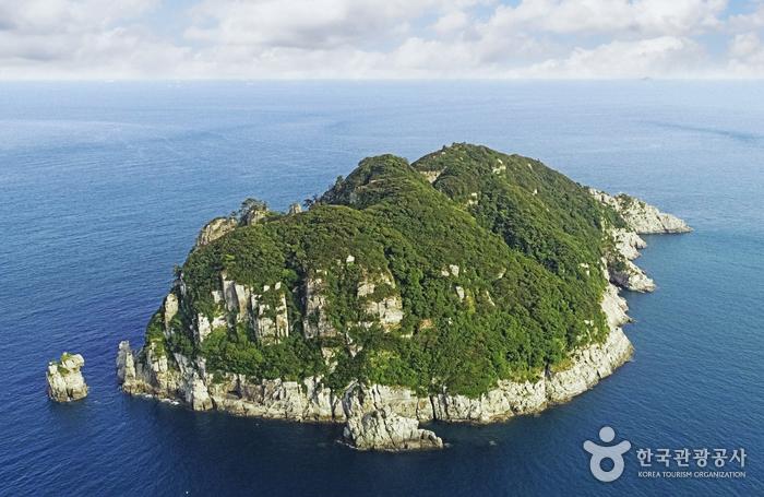 Insel Geoje Haegeumgang (거제해금강)