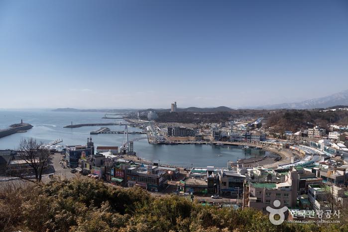 大浦港展望台(대포항 전망대)