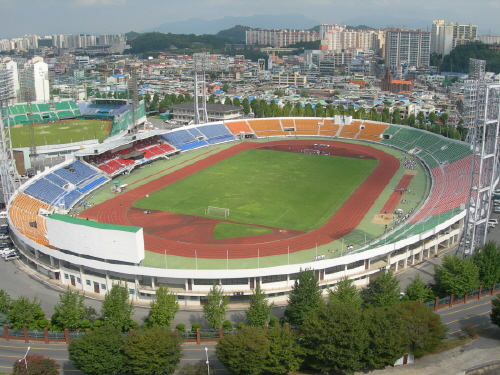 Closed: Gwangju Mudeung Stadium