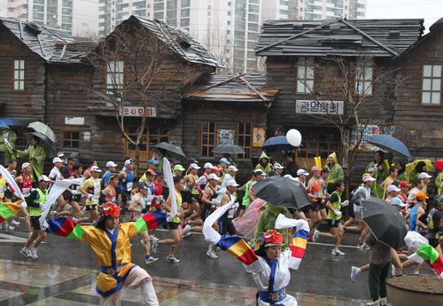 首尔国际马拉松大赛(서울국제마라톤대회)