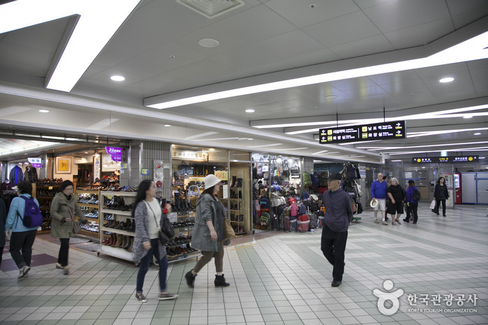 Nampo-dong Underground Shopping Center (남포동 지하도상가)